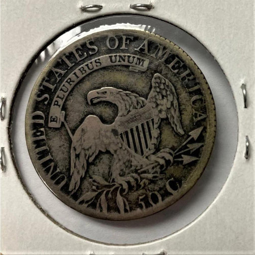 1814 Silver U.S. Half Dollar Antique Coin - DAVID CONSOLVO - The Shops at Mount Vernon