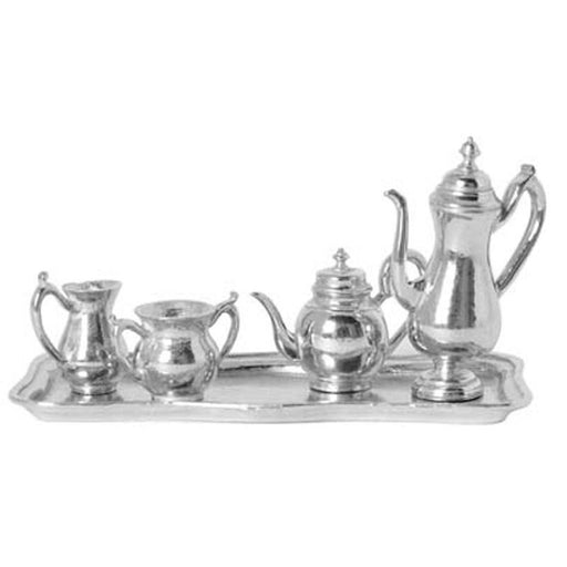 Miniature  Tea & Coffee Set from Salisbury Pewter - SALISBURY PEWTER - The Shops at Mount Vernon