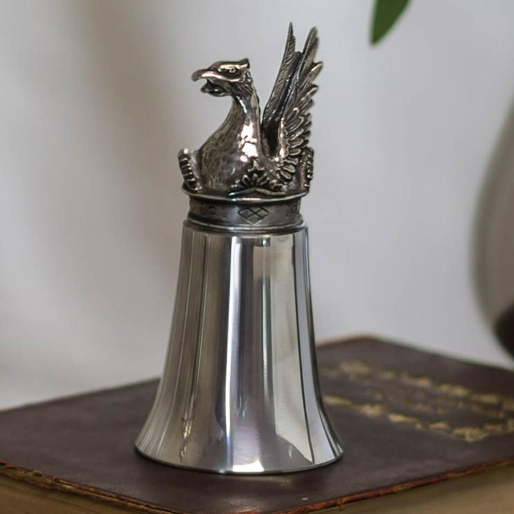 Mount Vernon Griffin Pewter Stirrip Cup