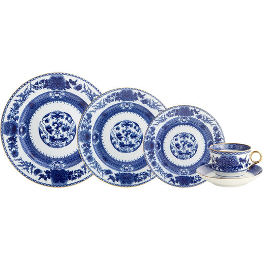 Imperial Blue 5-piece Place Setting - MOTTAHEDEH & COMPANY, INC - The Shops at Mount Vernon