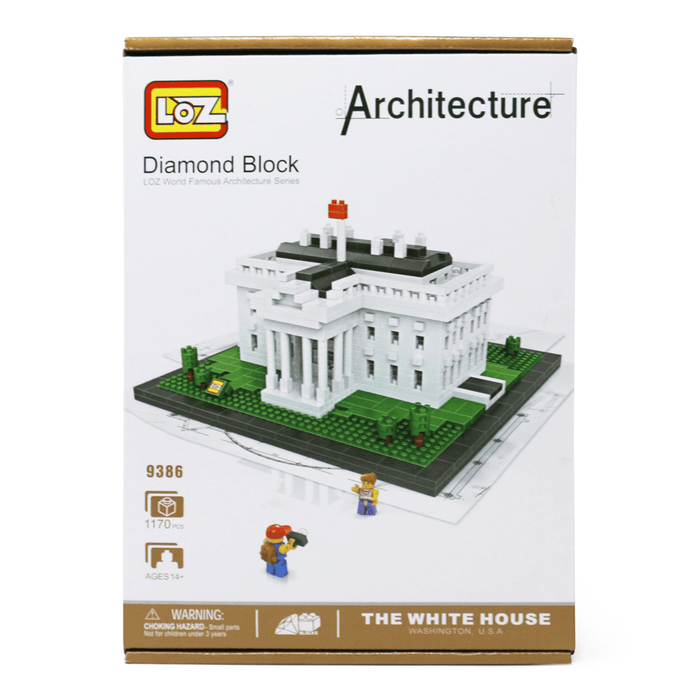 White House Building Blocks - CHARLES PRODUCTS INC. - The Shops at Mount Vernon