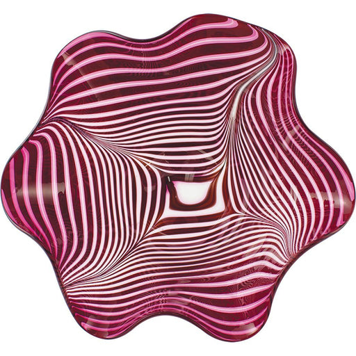 Ruby Nouveau Large Floppy Bowl - GLASS EYE STUDIO - The Shops at Mount Vernon