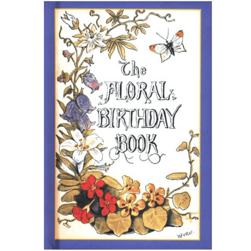 Floral Birthday Book - APPLEWOOD BOOKS - The Shops at Mount Vernon
