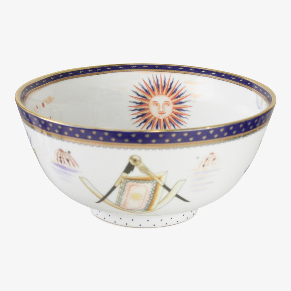 George Washington Porcelain Masonic Bowl - The Shops at Mount Vernon - The Shops at Mount Vernon