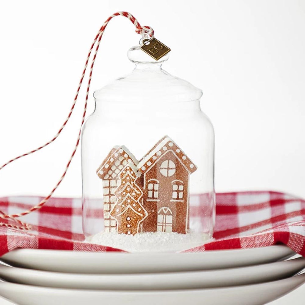 Gingerbread Cookie Jar Ornament - RAZ IMPORTS INC - The Shops at Mount Vernon