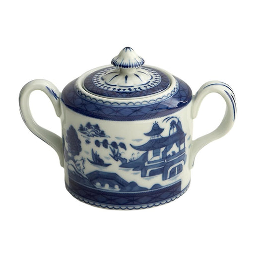 Blue Canton Covered Sugar Bowl - MOTTAHEDEH & COMPANY, INC - The Shops at Mount Vernon