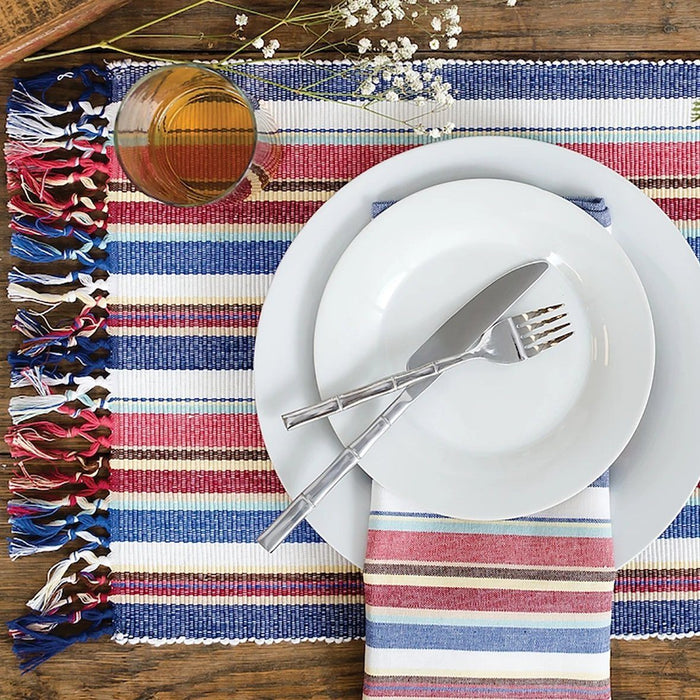 Heartland Stripe Placemat - C & F ENTERPRISE - The Shops at Mount Vernon