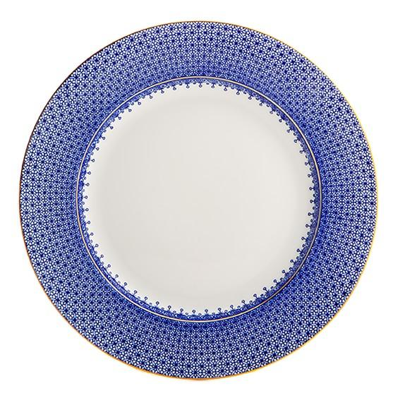 "Blue Lace 12"" Service Plate - MOTTAHEDEH & COMPANY, INC - The Shops at Mount Vernon"