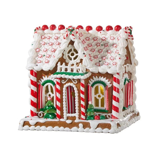 Lighted Gingerbread Cookie House - RAZ IMPORTS INC - The Shops at Mount Vernon