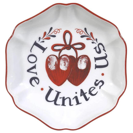 Love Unites Us Ring Tray - MOTTAHEDEH & COMPANY, INC - The Shops at Mount Vernon