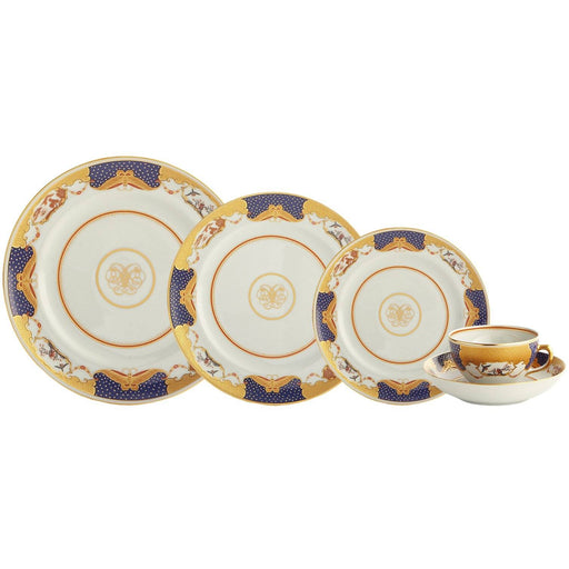 Golden Butterfly 5-piece Place Setting - MOTTAHEDEH & COMPANY, INC - The Shops at Mount Vernon
