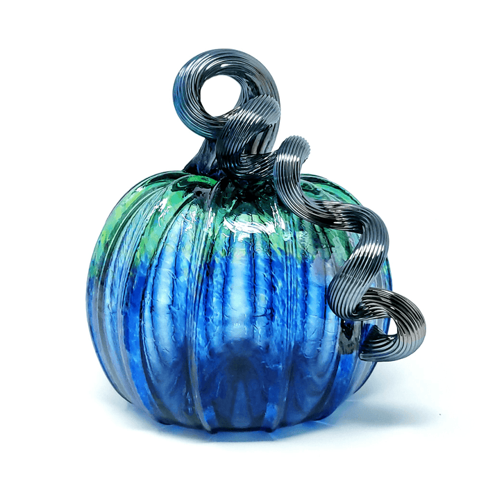 Marine Pumpkin - LUKE ADAMS HANDBLOWN GLASS - The Shops at Mount Vernon