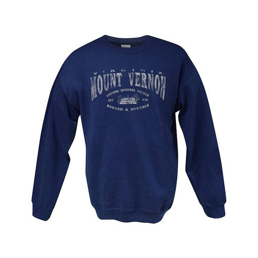 Navy Blue Sweatshirt - The Shops at Mount Vernon - The Shops at Mount Vernon