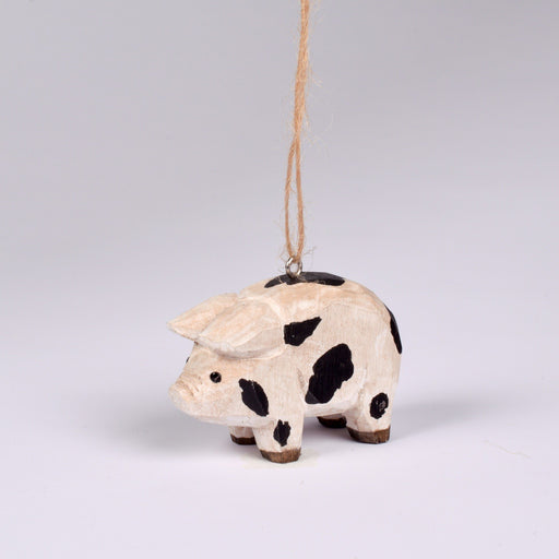 Wooden Ossabow Island Pig Ornament - DESIGN MASTER ASSOCIATES - The Shops at Mount Vernon