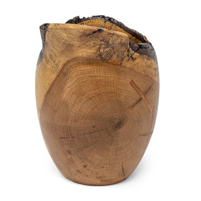 Historic Red Oak Vase #219 - DOUG DILL - The Shops at Mount Vernon