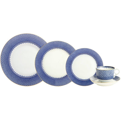 Blue Lace 5-piece Place Setting