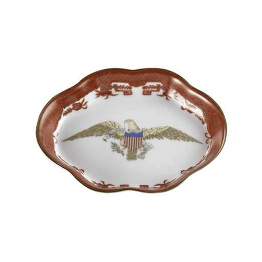 Diplomatic Eagle Small Tray in Rust - MOTTAHEDEH & COMPANY, INC - The Shops at Mount Vernon