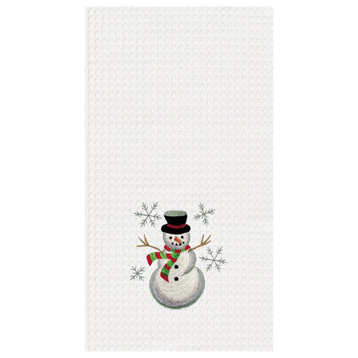 Snowman Towel - C & F ENTERPRISE - The Shops at Mount Vernon