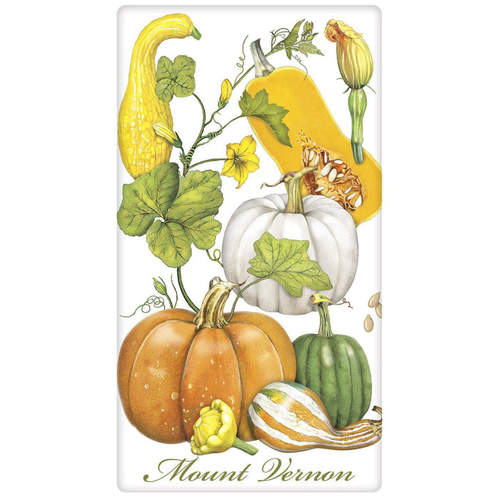Mount Vernon Squash Vine Flour Sack  Kitchen Towel - MARY LAKE-THOMPSON LTD - The Shops at Mount Vernon