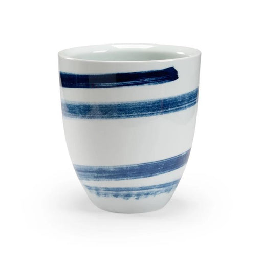 Chelsea House Blue Swirl Cachepot - CHELSEA HOUSE - The Shops at Mount Vernon