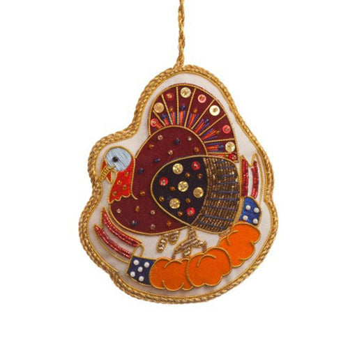 Thanksgiving Turkey Ornament - ST NICOLAS LTD. - The Shops at Mount Vernon