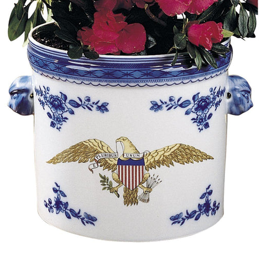 Diplomatic Eagle Cachepot - MOTTAHEDEH & COMPANY, INC - The Shops at Mount Vernon