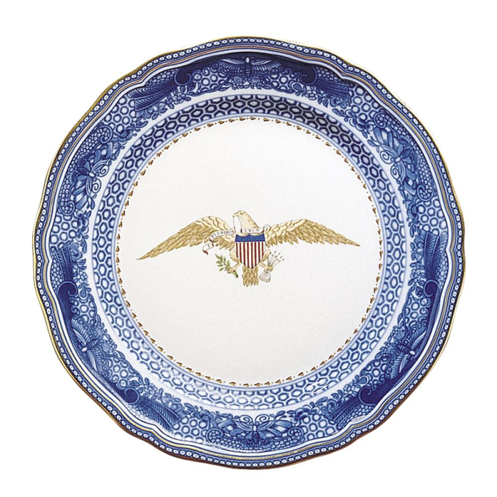 Diplomatic Eagle Plate by Mottahedeh
