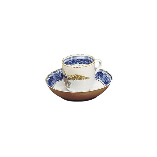 Diplomatic Eagle Cup and Saucer - MOTTAHEDEH & COMPANY, INC - The Shops at Mount Vernon