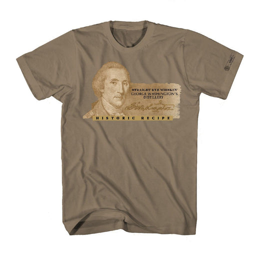 George Washington's Whiskey T-Shirt - The Shops at Mount Vernon - The Shops at Mount Vernon