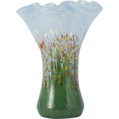 Wildflowers Large Ruffle Vase