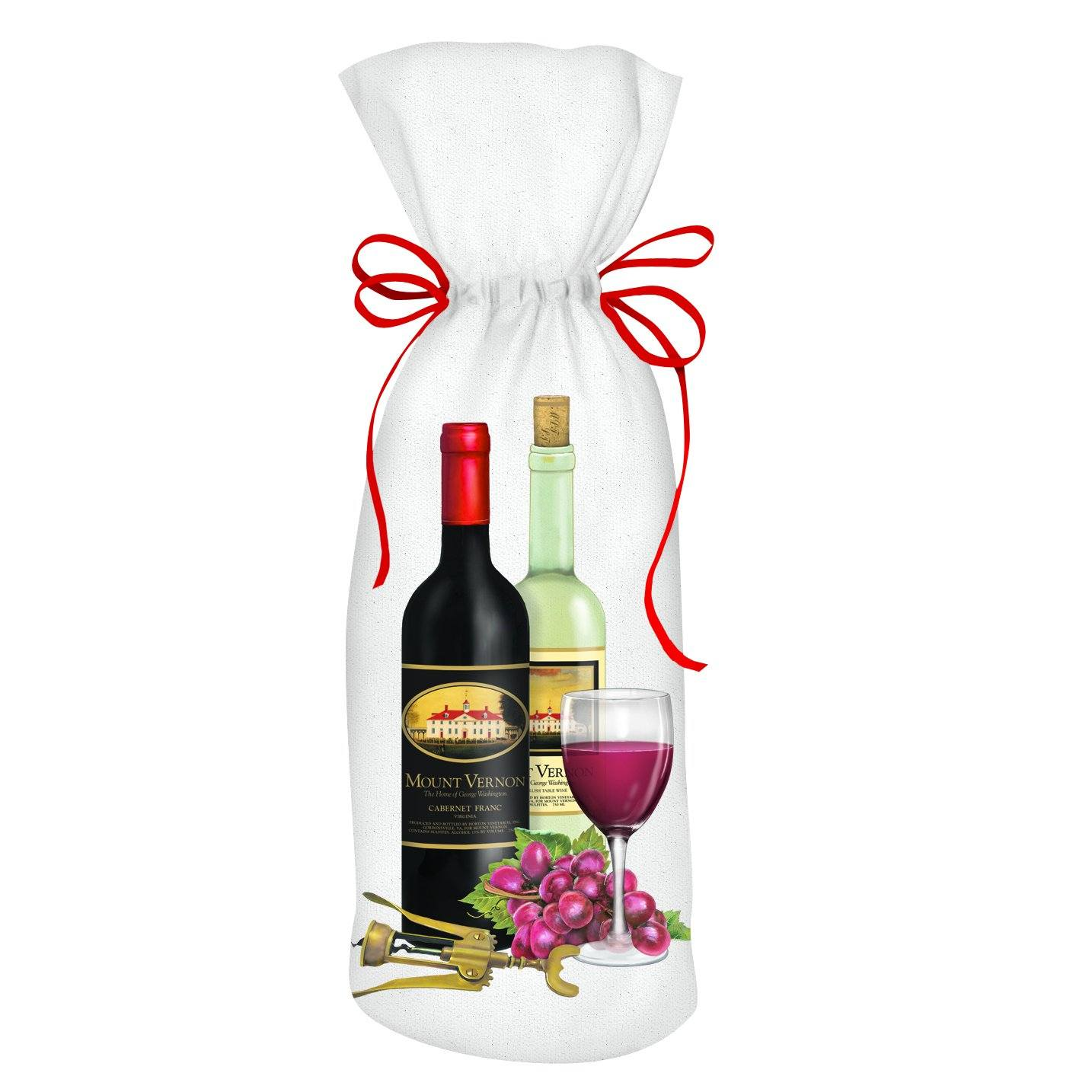 Mount Vernon Wine Bag