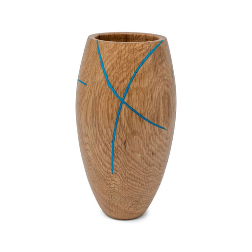 Historic White Oak Vase #220 - DOUG DILL - The Shops at Mount Vernon