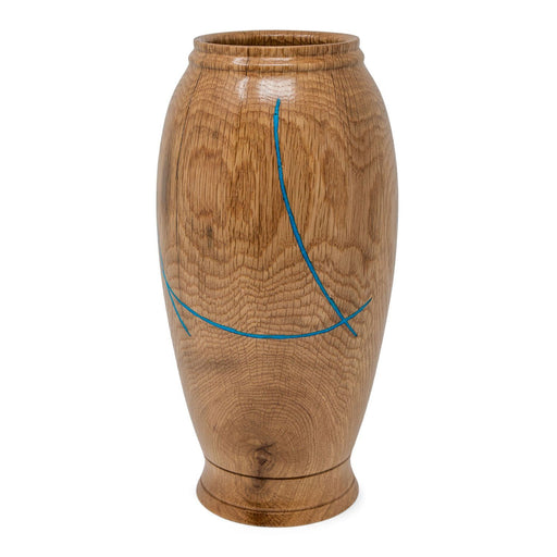 Historic White Oak Vase #222 - DOUG DILL - The Shops at Mount Vernon