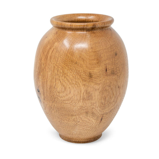 Historic White Oak Vase #223 - DOUG DILL - The Shops at Mount Vernon