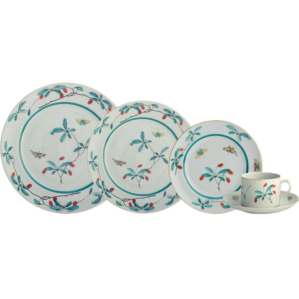Famille Verte 5-piece Place Setting - MOTTAHEDEH & COMPANY, INC - The Shops at Mount Vernon