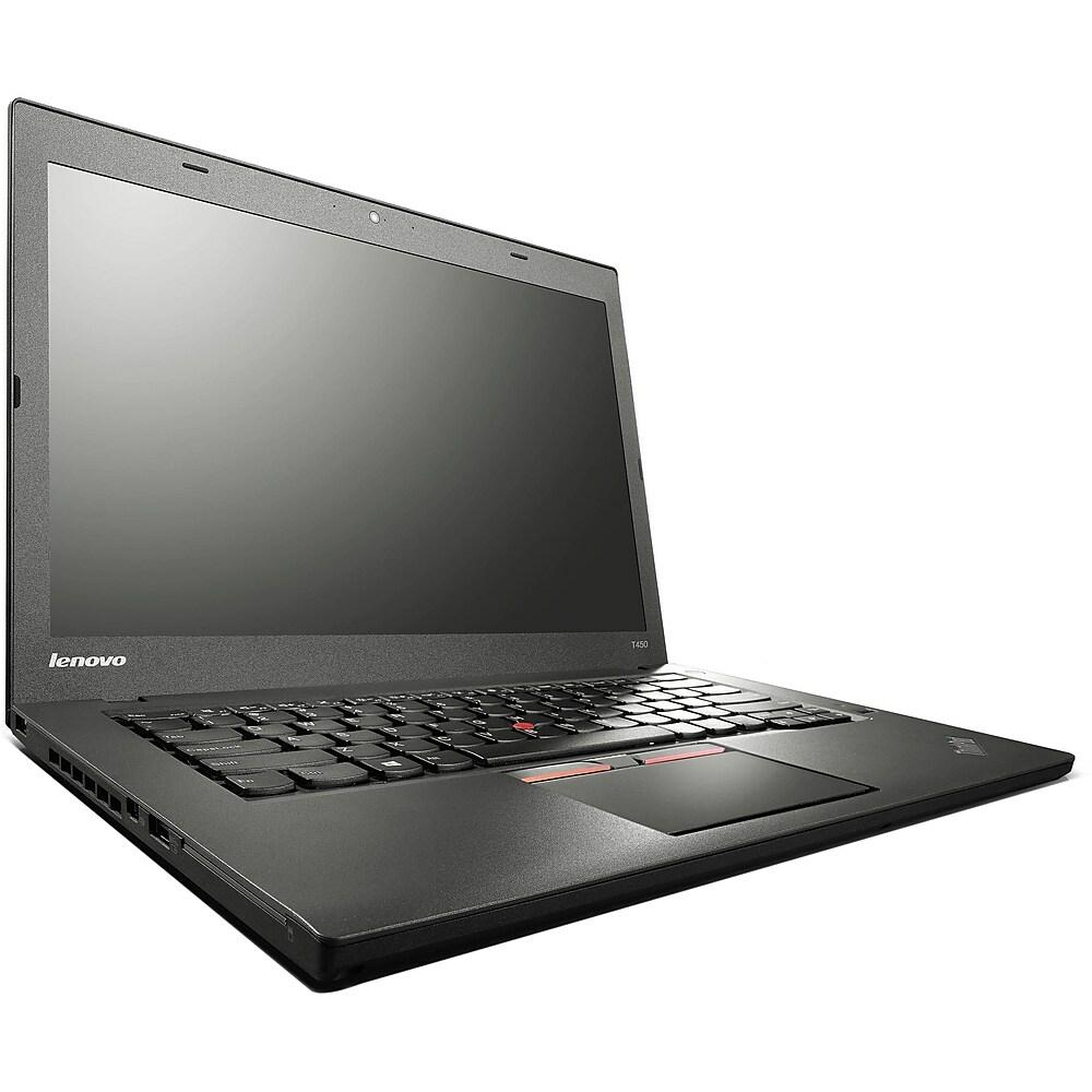 "Lenovo ThinkPad T450 14"" Laptop, Core i5-5200U, 8GB RAM, SSD, Windows 10 Pro"