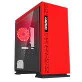 Expedition Red Gaming PC Quad Core i5 GTX 1650 16GB Windows 10