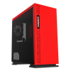 Expedition Red Gaming PC Quad Core i5 GTX 1050 Ti 16GB Windows 10