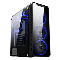 Blaze Quad Core i5 WiFi 4GB GTX 1050 Ti Gaming PC Windows 10