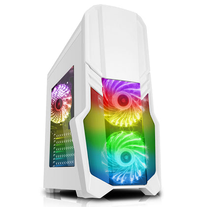 G Force White i7 Gaming PC GTX 1650 16GB SSD WiFi Nvidia Windows 10