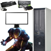 HP Dual Core Gaming PC - 8GB Memory - Windows 10 - Nvidia 2GB GT 710 Graphics - Screen Options