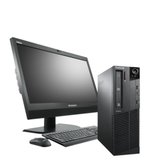 Lenovo Desktop Gaming PC Bundle i5 19' TFT 4GB 1050 Ti 16GB RAM Computer Win 10