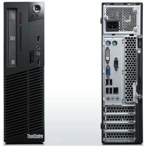 Lenovo ThinkCentre M91p Quad Core i5-2400 SFF 8GB RAM Windows 10 Desktop PC Computer