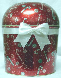 Christmas Popcorn Tins are In!