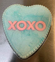 Valentines Cotton Candy Conversation Heart Pick Your Color