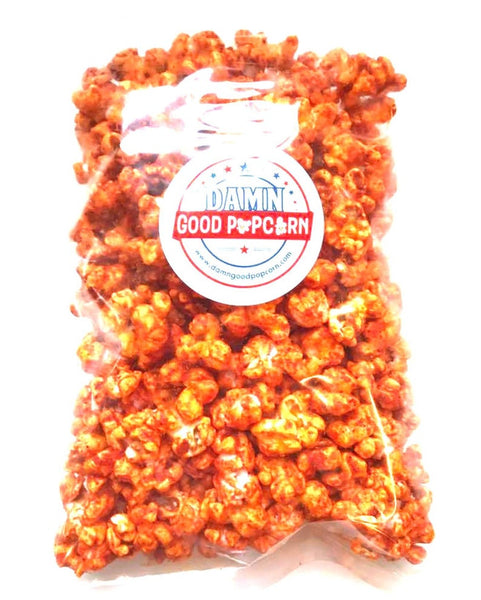 Spicy Popcorn Sampler Jalapeno, Buffalo and Habanero
