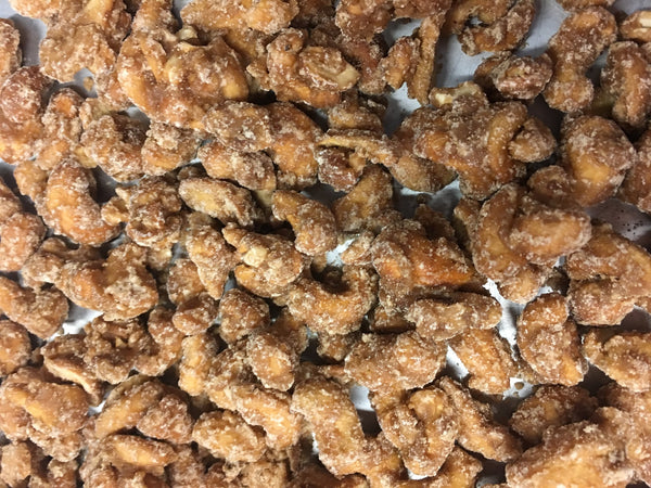Frosted Sugar Cinnamon Cashews Candied Cashews