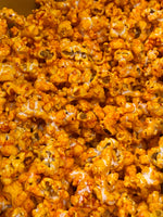 Sriracha Cheddar Cheese Hot Spicy Popcorn