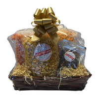 spicy popcorn lovers gift basket
