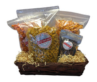 Spicy Popcorn Lovers Gift Basket Jalapeno Buffalo Breath Sriracha